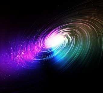 a colorful galaxy
