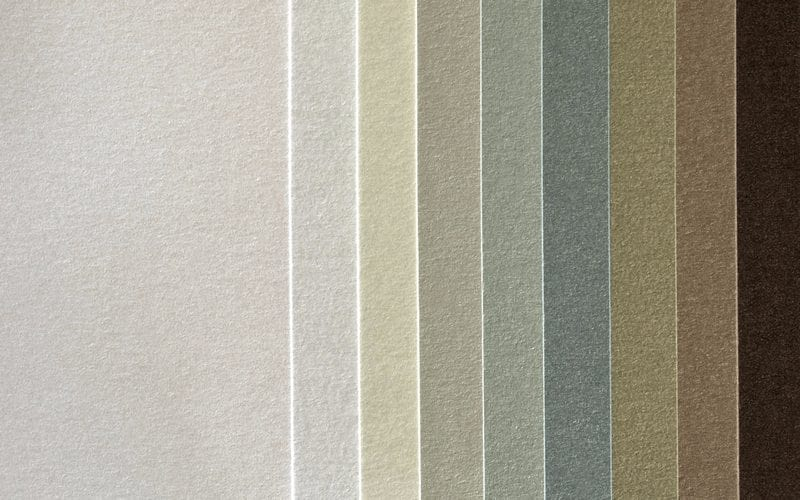 Neutral Colors laid out next to each other