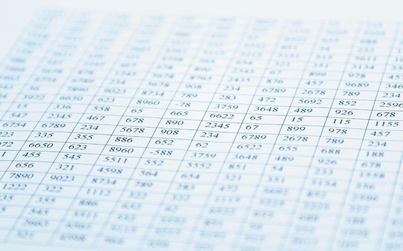 budget ledger spreadsheet