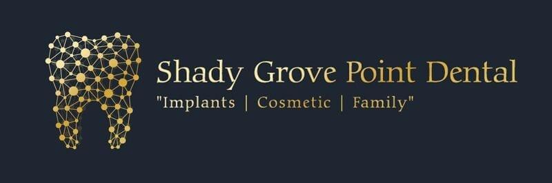 shady grove point dental logo