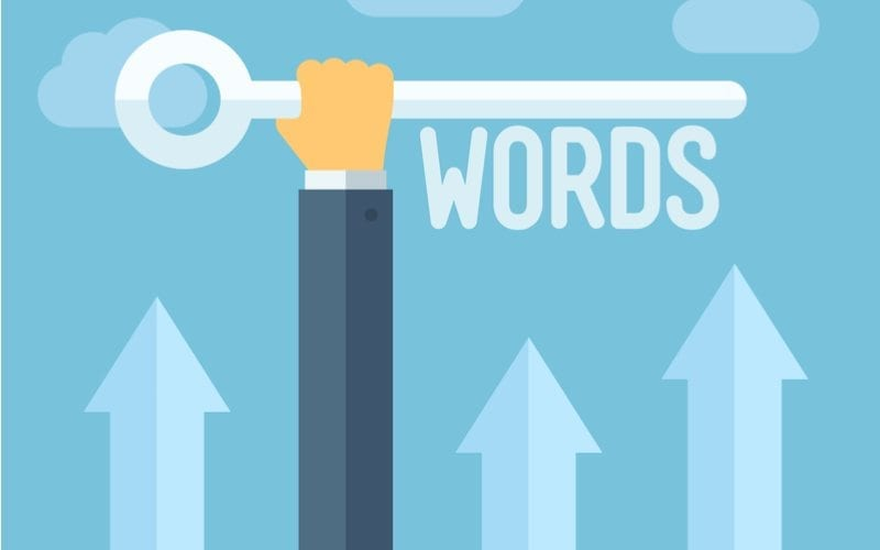 illustration of keywords