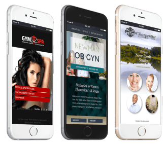 for mobile responsive designs, look to optimized360