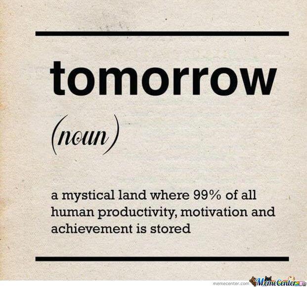 definition of tomorrow o 1117394