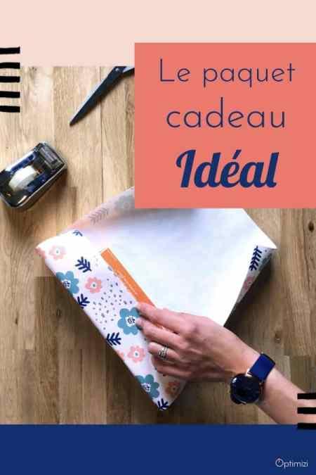 une des étapes essentielles à un paquet cadeau idéal est la dimension du papier