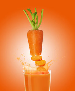 CARROTS TO JUICE