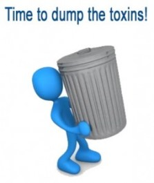 Time to dump the toxins!