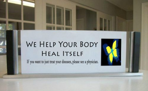 We help your body heal itself.