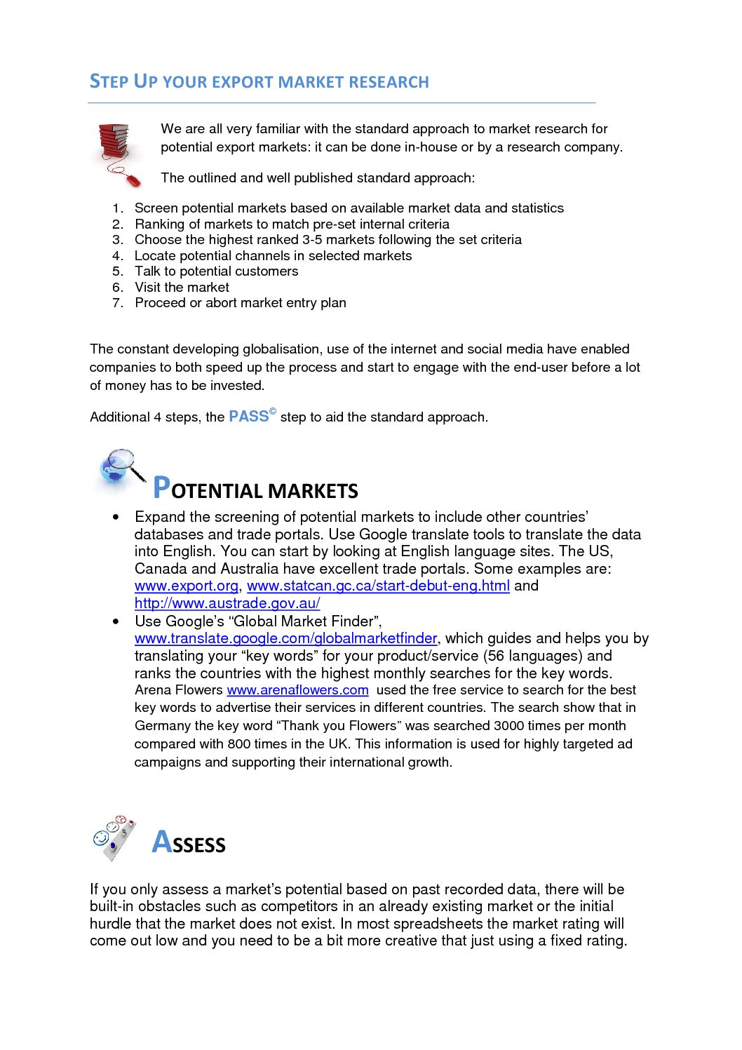 - step up your export market research aug 2012 pdf