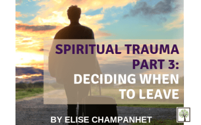 Spiritual Trauma Part 3: Deciding When to Leave