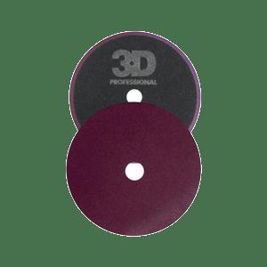 3D Dark purple cutting pad optimum motor sports