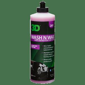 Wash and wax optimum motor sports