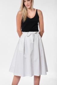Midi relaxed skirt by AD LOFT