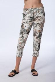 Floral print trousers by Add Loft