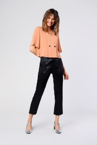 Tapered Black Trouser by Glamorous