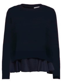 New Latisha Total Blue Pullover Knitwear by Only