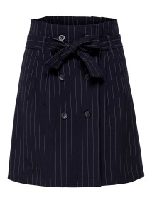 Julie Checked Wrap Skirt by JDY