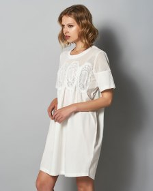 Laced White Dress
