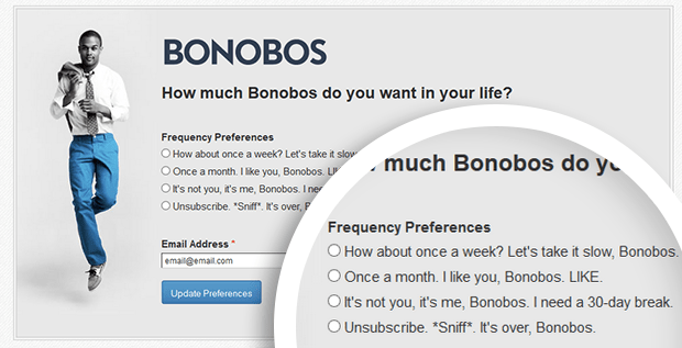 Bonobos Opt Down