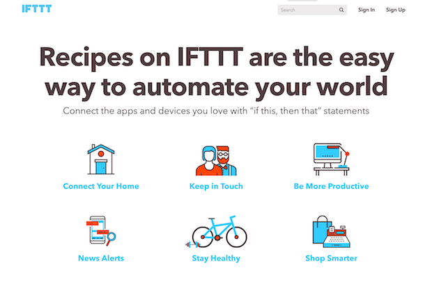best social media tools for automation - ifttt