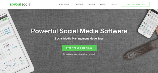 social marketing tools - sproutsocial