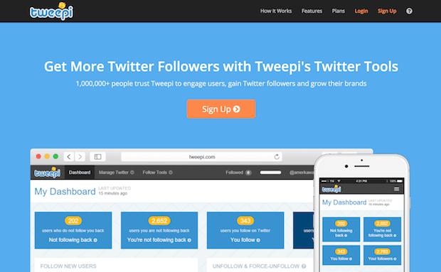 herramientas de marketing en redes sociales - tweepi