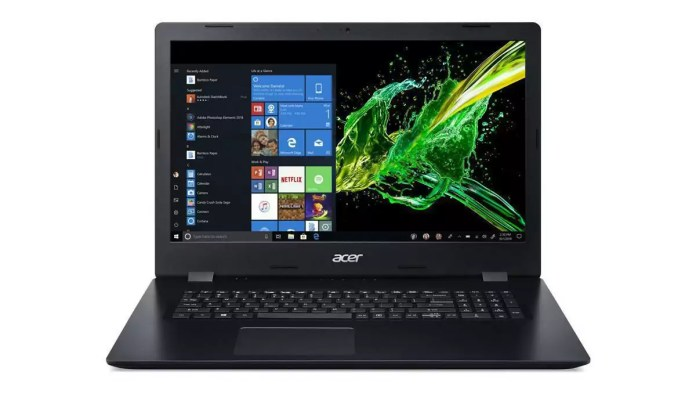 Acer Aspire A317-51-56PH Noir