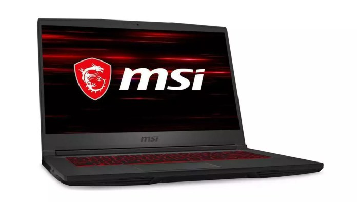 MSI GF65 10SDR-1037FR Thin -