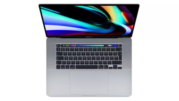 Apple MacBook Pro 16 Touch