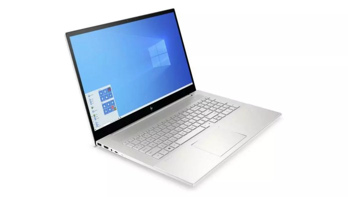 HP Envy 17-cg0003nf Argent -