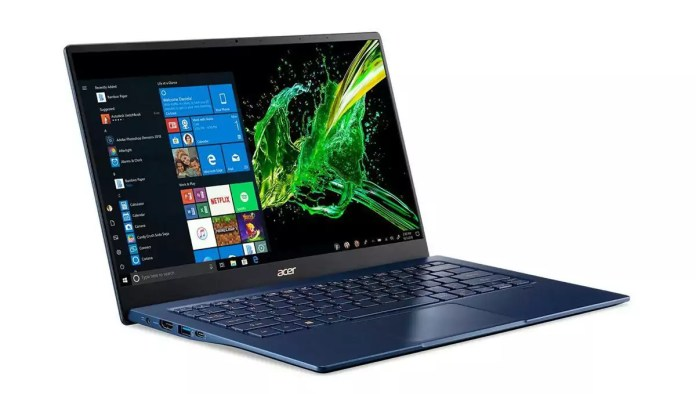 Acer Swift 5 SF514-54GT-72J1 Bleu