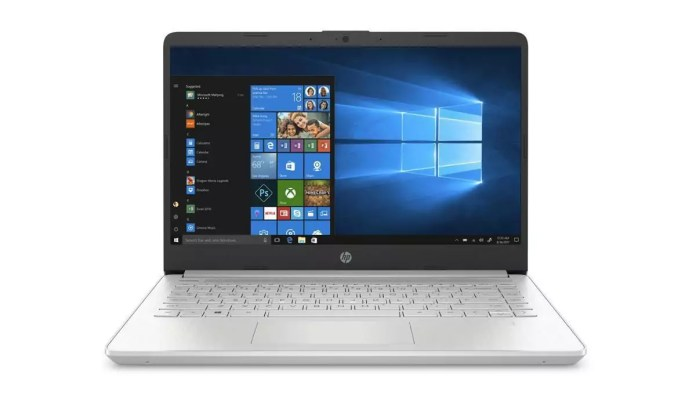 HP 14s-fq0023nf Argent