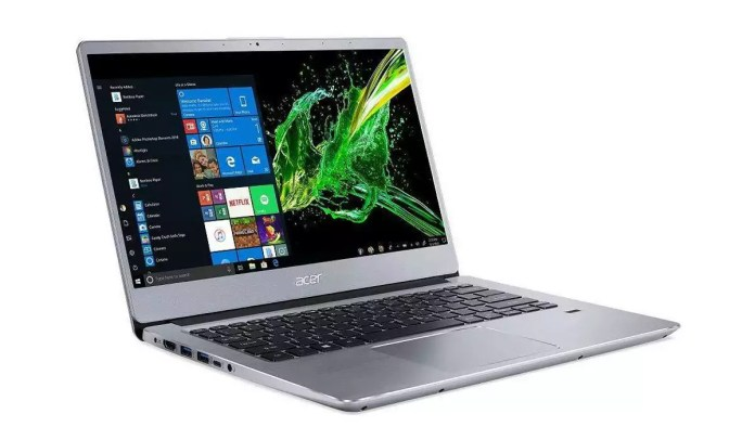 Acer Swift 3 SF314-41-R5ER Argent