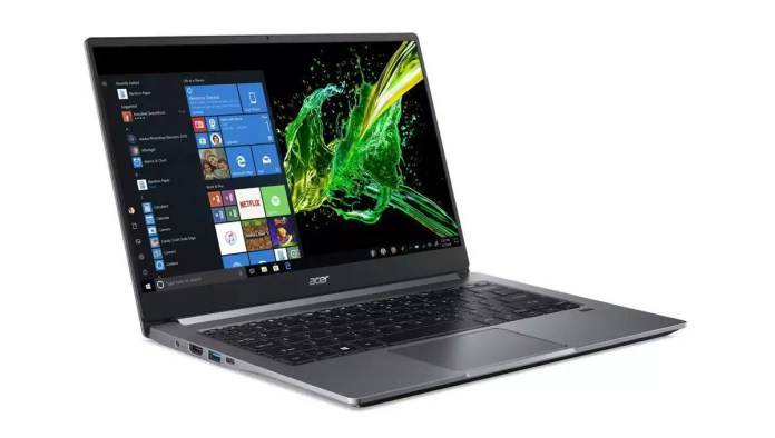 Acer Swift 3 SF314-57-74J9 Argent