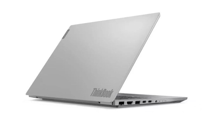 The laptop for traveling :  Thinkbook 14-IIL (20SL000LFR) – – Core i7-1065G7 from Lenovo