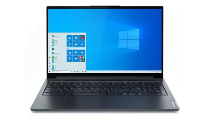 The Lenovo  Yoga Slim 7 15IMH05 – Core i7-10750H perfectly designed for surfing on the internet