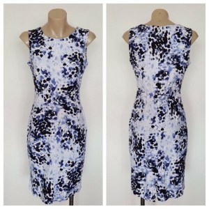 LUUI NEW YORK Ladies Patterned Sleeveless Dress Size Medium M