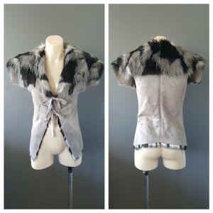 COOPER ST Faux Fur Vest Size 8