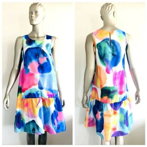 GORMAN Women's Multicolour Party Cocktail Sleeveless Dress Size Medium M