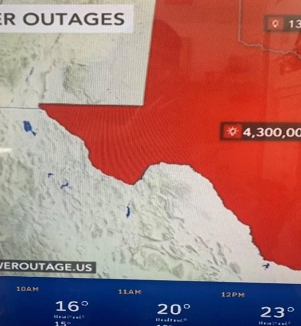 Epic Power Grid Failure