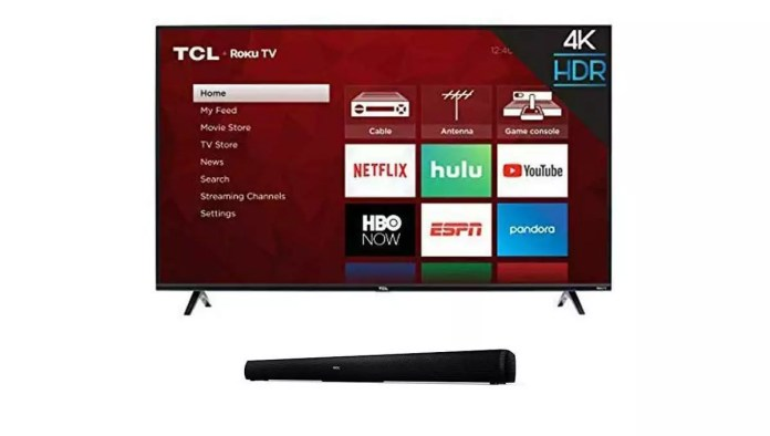 TCL 43S425 with Sound Bar