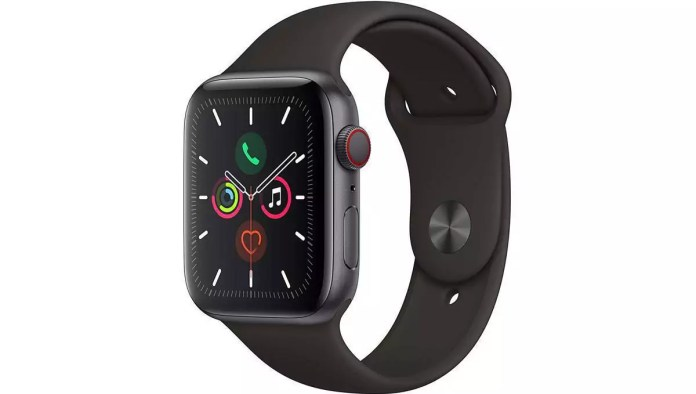 Apple Series 5 (GPS + Cellular, 44 mm)