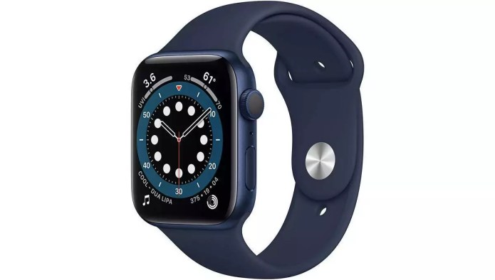 Analysis and handling of the Series 6 (GPS, 44 mm) from Apple.