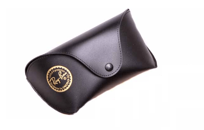 case ray ban in black color