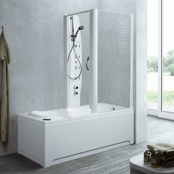 Badewanne Mit Dusche Integriert Günstig | Duschwand Für ...