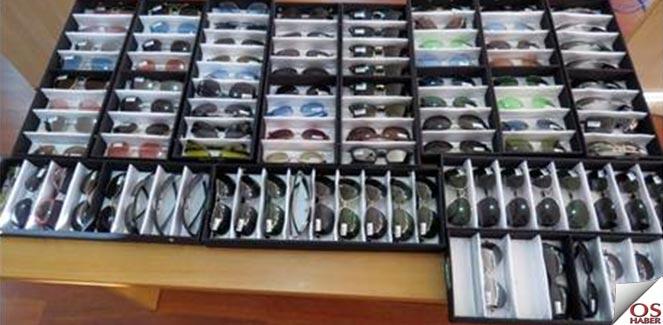 Denizli'de Bin 362 Adet Kaçak Gözlük Ele Geçirildi