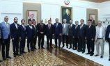 Ato Heyetinden Sağlık Bakanı Koca'ya Ziyaret