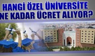 2020-2021 Özel Üniversite Ücretleri