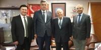 İstanbul Odası İl Sağlık Müdürünü Ziyaret Etti