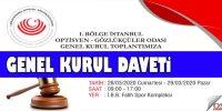 İstanbul Odası Genel Kurulu