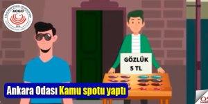 Ankara Odası Kamu spotu